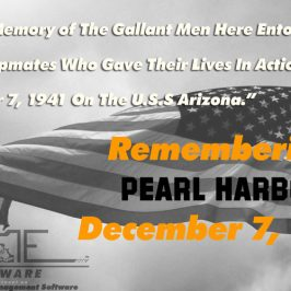 Remembering Pearl Harbor, 74 years