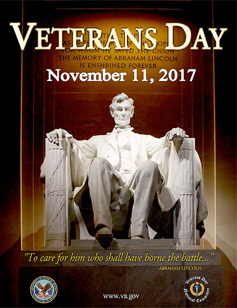 Veterans Day Poster 2017