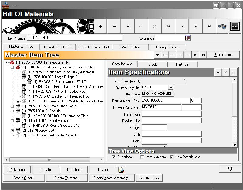 Bom Software  Bill Of Material Software For Manufacturing